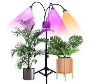 Triple Head Floor Standing LED Grow Light
