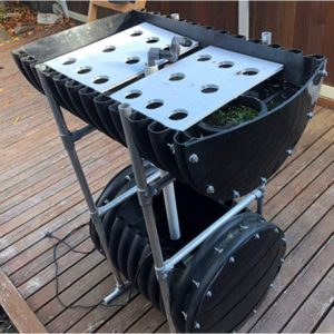 Biogarden 3/2 Single - Hydroponics System/Aquaponics System