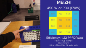Meizhi Light Intensity