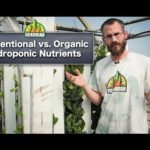 Conventional vs. Organic Hydroponic Nutrients
